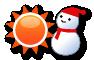 アルマティ:晴一時雪