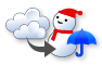 曇のち雪か雨