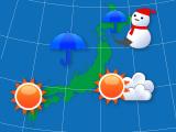 6時間ごとの10日間天気(札幌)