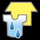 指数:30:外は乾かない!部屋干しがお勧め
