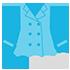 服装指数(指数:30:コートを着ないと結構寒いなあ)