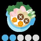 指数:20:愛媛の芋炊きで、お腹一杯に!