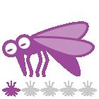 指数:蚊ケアLv1:心配なさそう、でも油断大敵