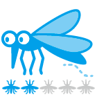 指数:蚊ケアLv2:備えあれば憂いなし、対策準備を