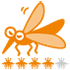 蚊ケア指数(指数:蚊ケアLv4:しっかり蚊ケアで快適に)