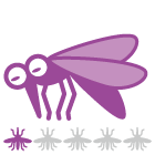 指数:蚊ケアLv1