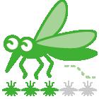 指数:蚊ケアLv3:蚊ケアが必要になるかも