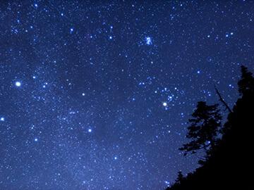 星空指数(指数:90:きれいな星空が広がりそうだよ)