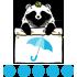 傘指数(指数:100:かならず傘をお持ちくださいね)