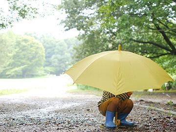 傘指数(指数:50:折りたたみ傘を、お持ち下さい)
