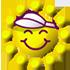 紫外線指数(指数:やや強い:日焼けが起きやすい)
