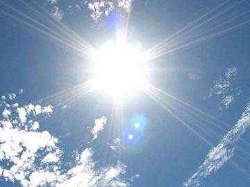 紫外線指数(強い:腫れやかゆみが生じることも)