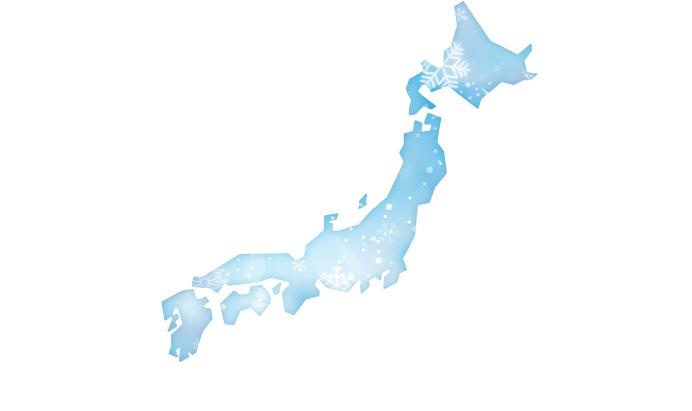 スキー日本地図