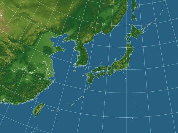 日本の東の台風24号は温帯低気圧になりました