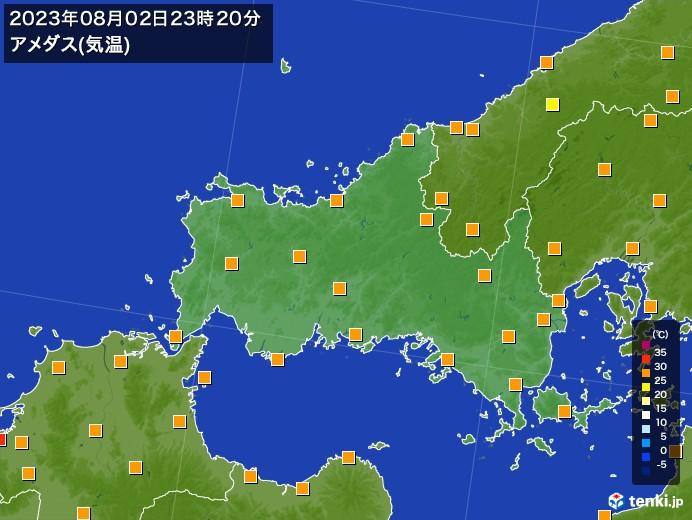 山口 県 天気 レーダー