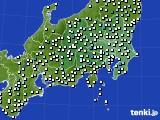 関東・甲信地方の前72時間