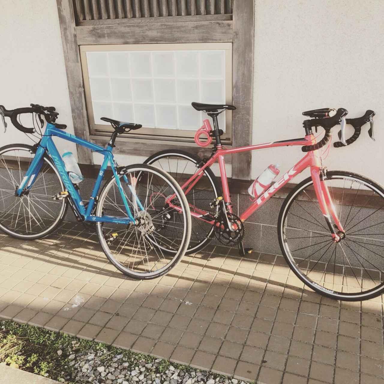 画像: ドロップハンドルの自転車