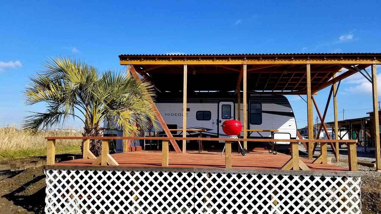 画像3: プライベート空間でアウトドア体験! USAトレーラーハウス泊可能な関東おすすめキャンプ場5選