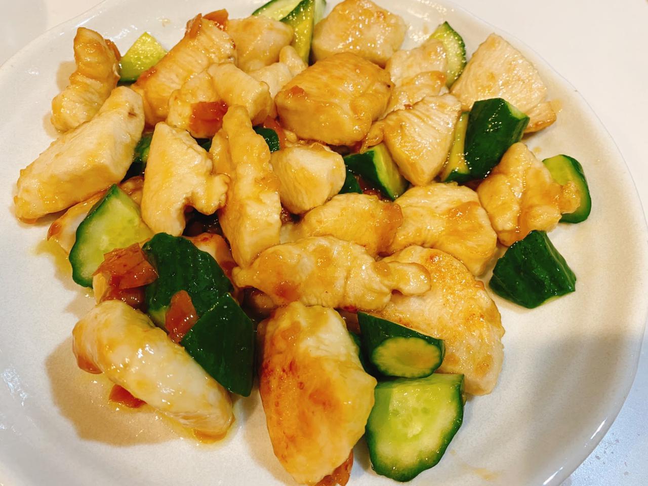 画像: やみつき夏レシピ④きゅうりと鶏肉の梅炒め