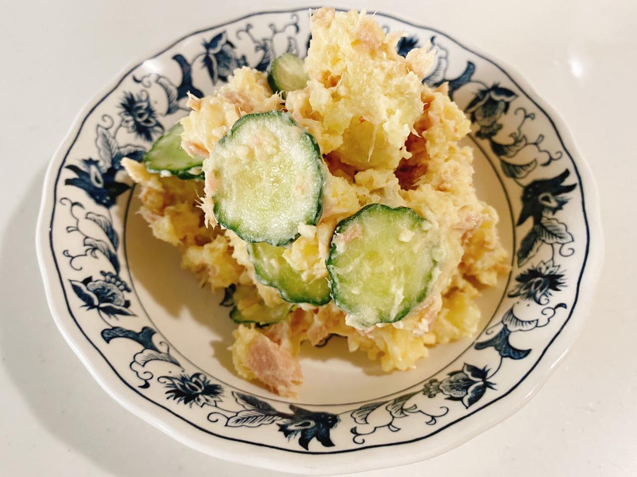 画像: やみつき夏レシピ③きゅうりとツナのピリ辛ポテトサラダ