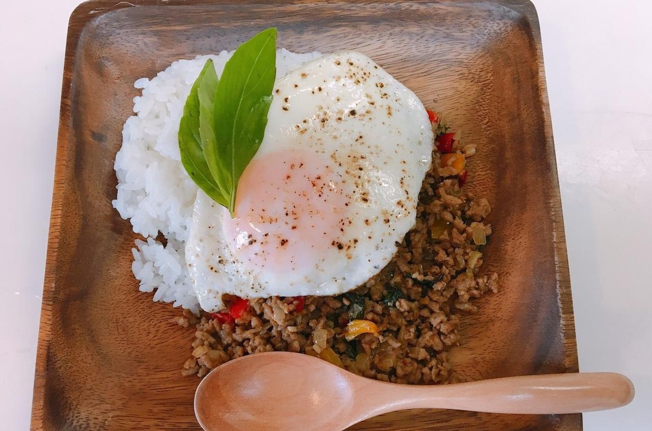 タイ料理の定番・ガパオライスの簡単レシピ!アウトドア調理で役立つ3つのアイテムもご紹介!