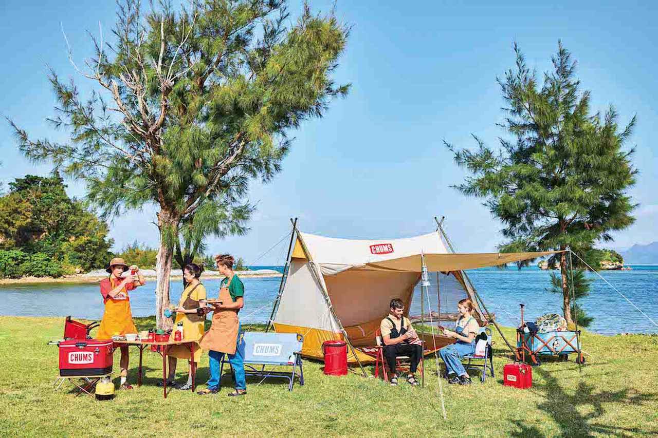 【注目リリース】遊び心溢れるCHUMS(チャムス)の新作テントやタープが登場!