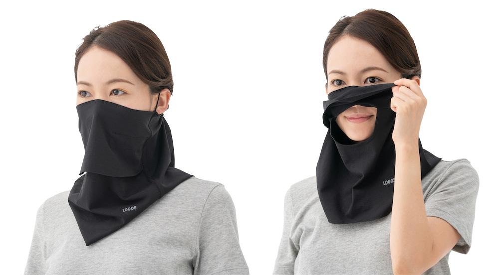 【注目リリース】「LOGOS(ロゴス)」の「美フィットスキン UVフェイスマスク」が夏マスクにオススメ!