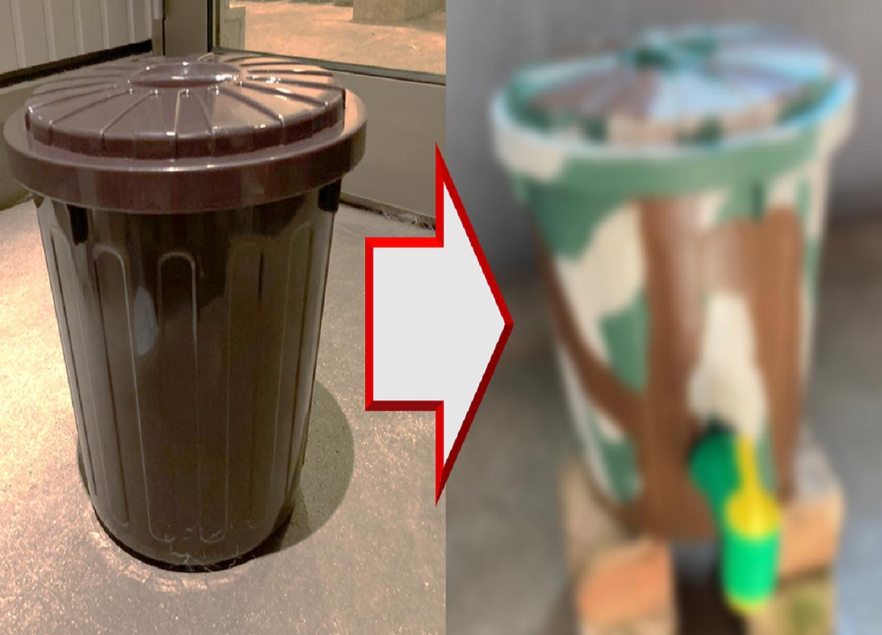 【自作ウォータージャグ】バケツがオシャレに大変身!? おすすめの塗装テクニックも大公開!
