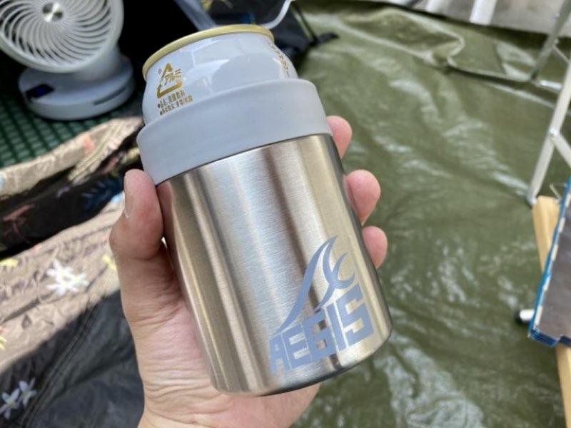 【ワークマン人気アイテム】真空保冷ペットボトルホルダー&真空保冷缶ホルダーを紹介