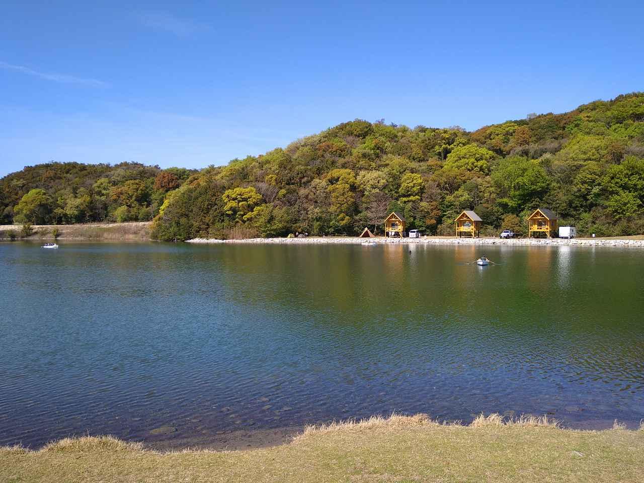 【香川県】「大池オートキャンプ場」でカヌーやボート!設備充実で初心者にもおすすめ