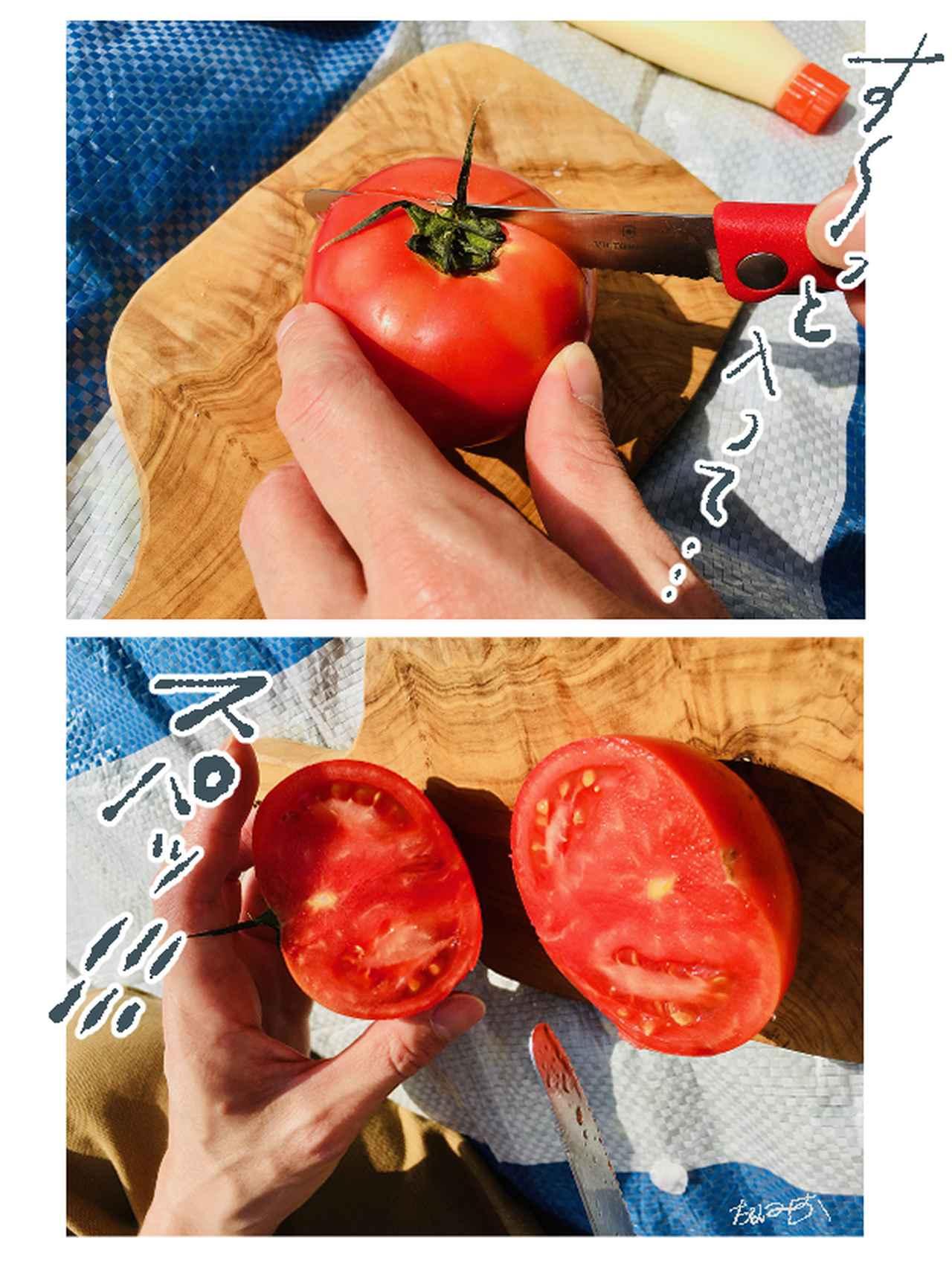 画像: 切れ味抜群!柔らかい果物から硬めのパンまで気持ちよくカットできる!