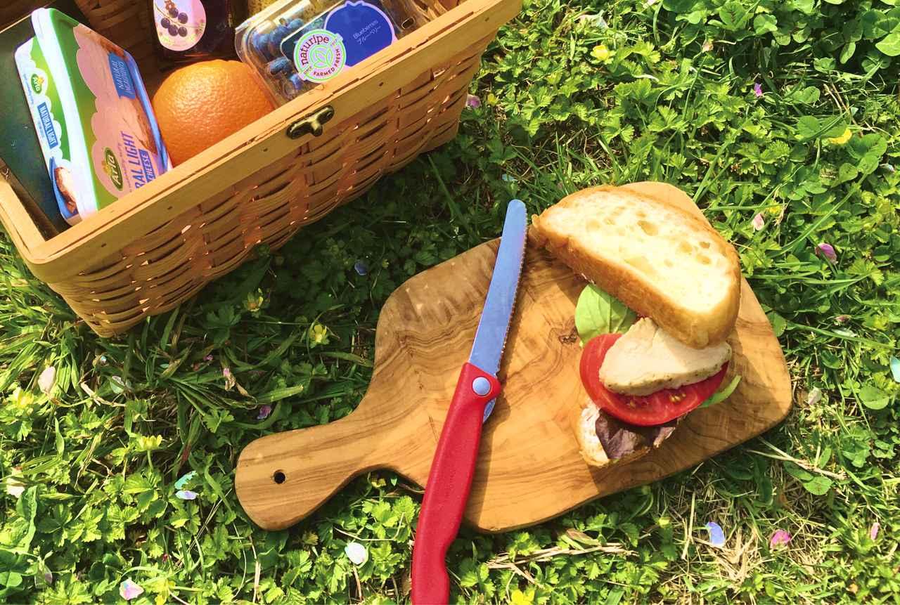 キャンプ料理用ナイフに最適! ビクトリノックス「トマト・ベジタブルフォールディングナイフ」