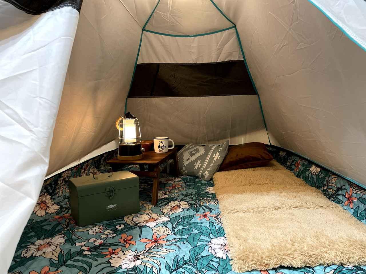 【おうち時間のリフレッシュ】小さめテントでおうちキャンプを楽しもう!