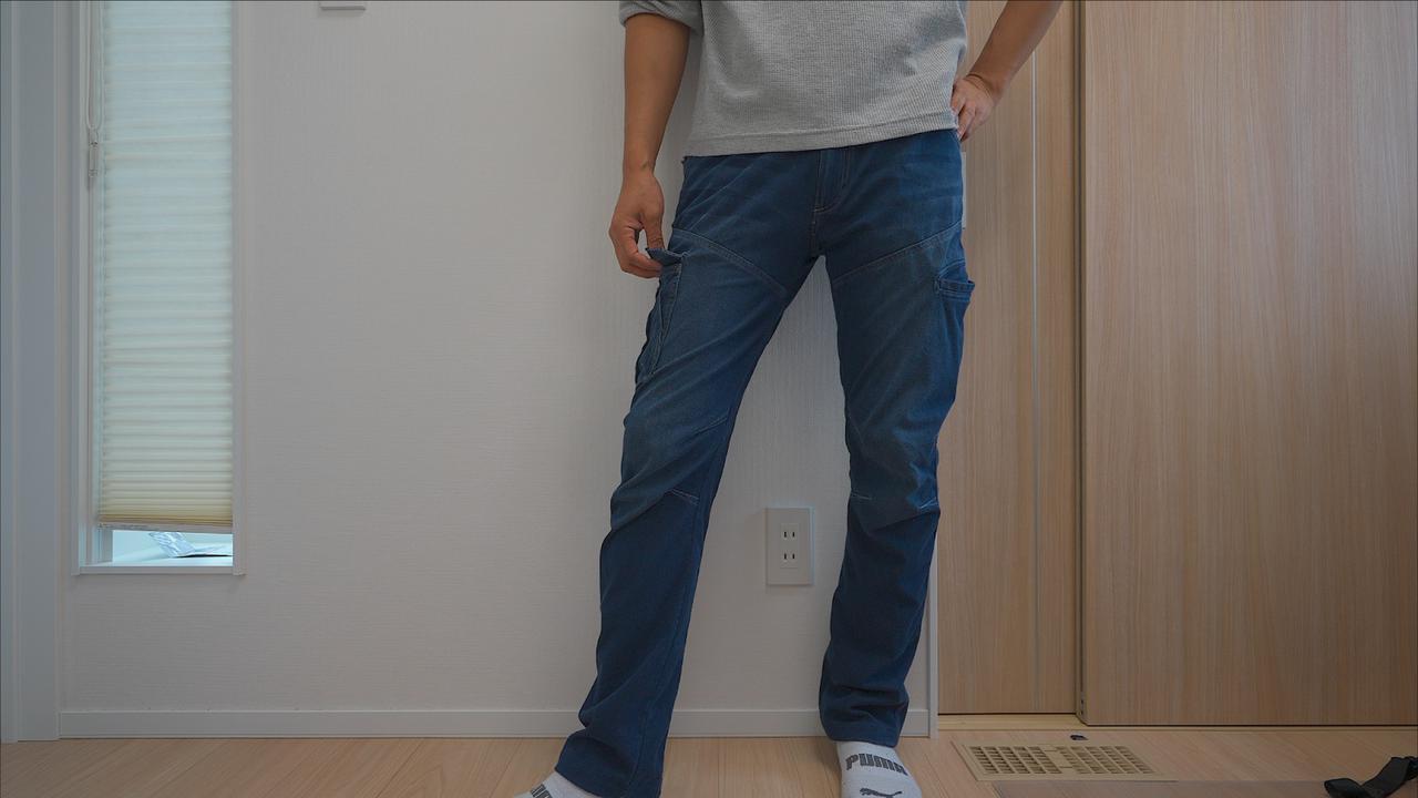 ワークマン4D冷感アイスパンツで暑い夏を快適に!穿いた瞬間−5℃のデニム風パンツ