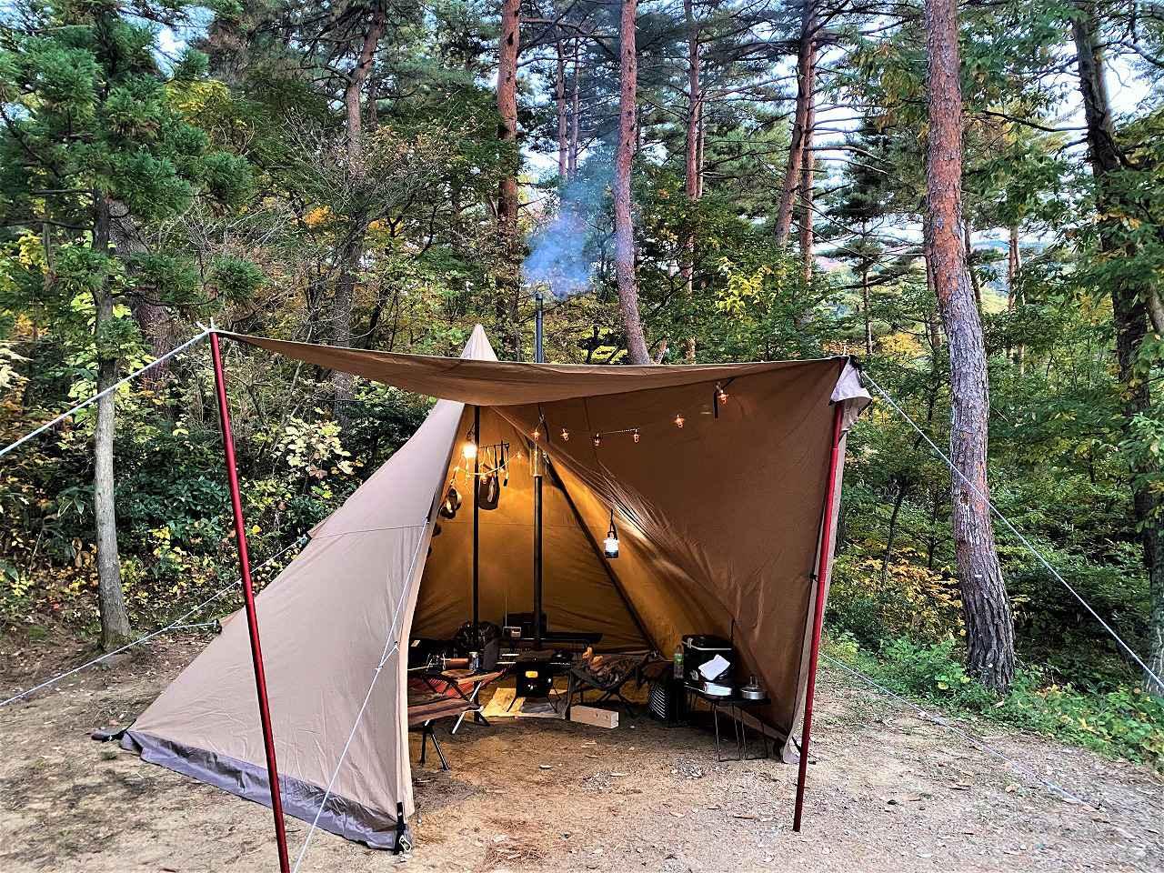 秋冬キャンプのテントの選び方を伝授!春まで使えるテンマクデザイン「サーカスTCDX」がオススメ