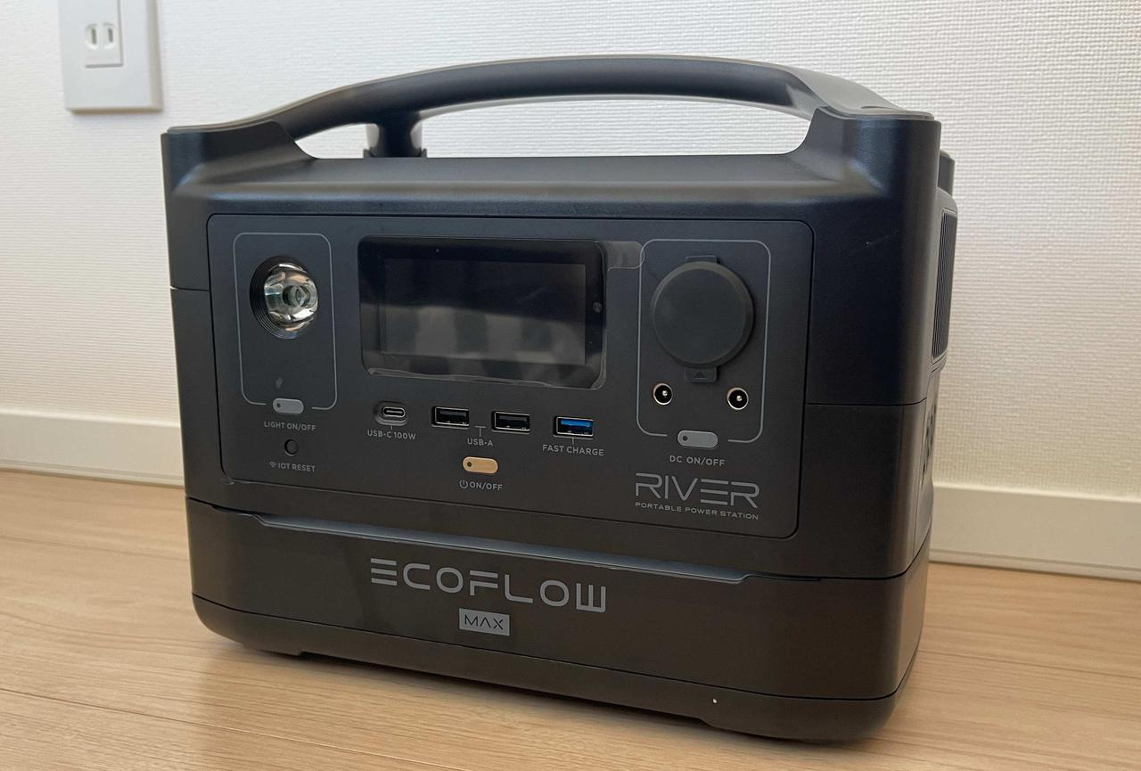【ポータブル電源】EcoFlow『RIVER Max』がキャンプや車中泊におすすめな4つの理由
