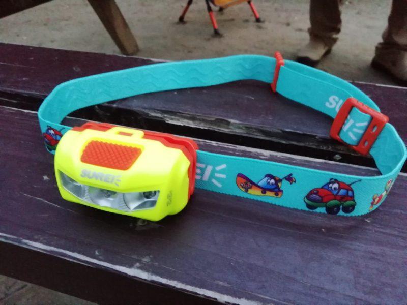 画像: 筆者撮影 子供用のヘッドライトも売ってます♪
