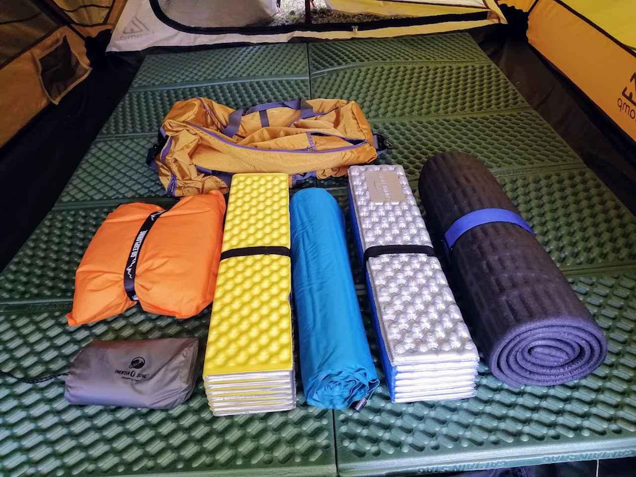 画像: 基本装備編・持ち物リスト【2】寝るための道具