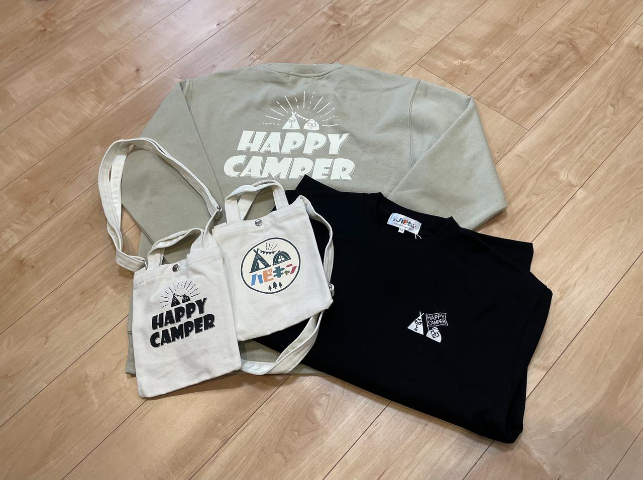 【Avail(アベイル)xハピキャン】コラボが実現!オリジナルのトレーナー・ショルダーバッグを10月27日よりアベイル全店で発売スタート!