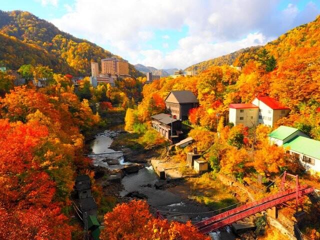 定山渓の写真