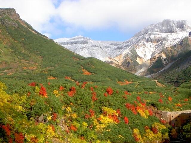 十勝岳温泉郷の写真