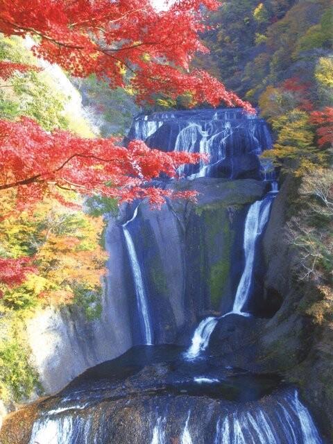 袋田の滝の写真