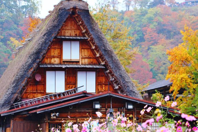 白川郷の写真