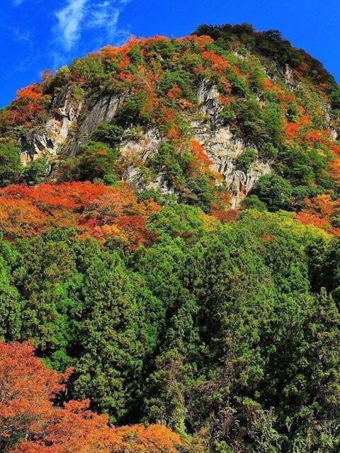 香落渓の写真