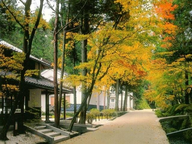 絲原記念館 庭園の写真