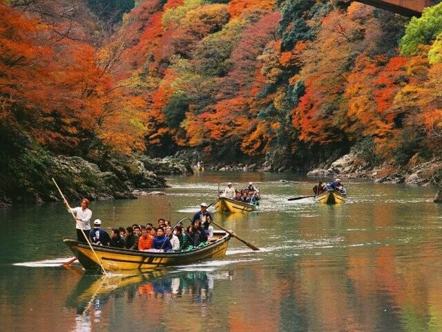 保津渓谷の写真