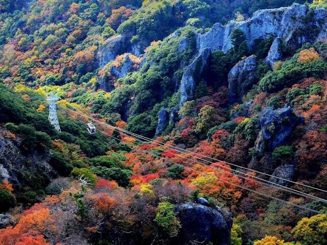 寒霞渓の写真
