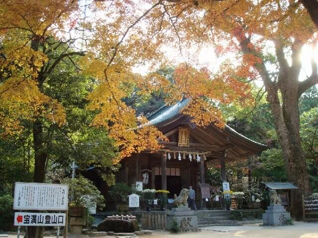 宝満宮竈門神社の写真