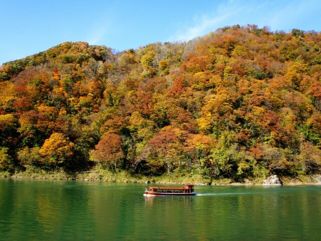 阿賀野川ライン舟下りの写真