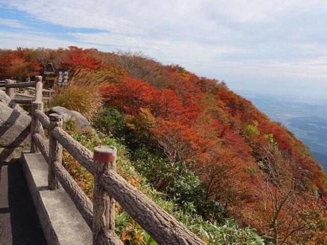 湯の山温泉の紅葉